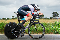 Picture by Alex Whitehead/SWpix.com - 07/09/2017 - Cycling - OVO Energy Tour of Britain - Stage 5, The Tendring Stage Individual Time Trial - Richard Handley of Madison Genesis in action.