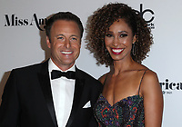 10 September 2017 - Atlantic City, NJ-  Chris Harrison, Sage Steele.  2018 Miss America Pageant Red Carpet Arrivals at Boardwalk Hall.  <br /> CAP/ADM/MJT<br /> &copy; MJT/ADM/Capital Pictures