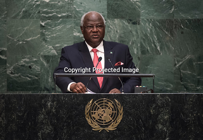 Address by His Excellency Ernest Bai Koroma, President of the Republic of Sierra Leone