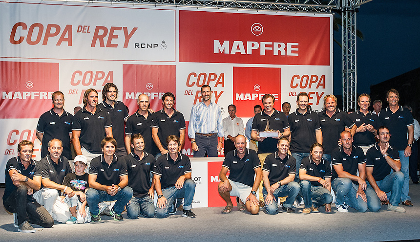 PALMA DE MALLORCA, SPAIN - 03 AUG:   day six of 32 Copa de Rey Mapfre de Vela at Real Club N·utico de Palma on August 03 2013 in Palma, Spain. Photo by Xaume Olleros / 52 Super Series