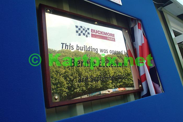 Buckmore Club House Opening
