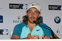Tommy Fleetwood (ENG) winner of the Race to Dubai at the season ending DP World Tour Championship 2017 at the Jumeirah Golf Estates, Dubai, United Arab Emirates. 19/11/2017<br /> Picture: Golffile | Thos Caffrey<br /> <br /> <br /> All photo usage must carry mandatory copyright credit     (© Golffile | Thos Caffrey)