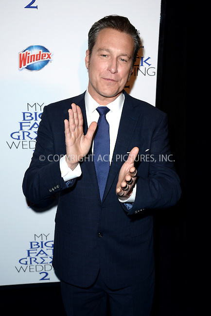 WWW.ACEPIXS.COM<br /> March 15, 2016 New York City<br /> <br /> John Corbett attending the 'My Big Fat Greek Wedding 2' New York premiere at AMC Loews Lincoln Square 13 theater on March 15, 2016 in New York City.<br /> <br /> <br /> <br /> Credit: Kristin Callahan/ACE Pictures<br /> Tel: (646) 769 0430<br /> e-mail: info@acepixs.com<br /> web: http://www.acepixs.com