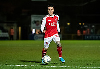 Fleetwood Town's Barrie McKay breaks<br /> <br /> Photographer Andrew Kearns/CameraSport<br /> <br /> The EFL Sky Bet League One - Wycombe Wanderers v Fleetwood Town - Tuesday 11th February 2020 - Adams Park - Wycombe<br /> <br /> World Copyright © 2020 CameraSport. All rights reserved. 43 Linden Ave. Countesthorpe. Leicester. England. LE8 5PG - Tel: +44 (0) 116 277 4147 - admin@camerasport.com - www.camerasport.com