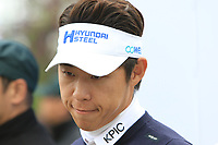 Jinho Choi (KOR) after Round 3 of the UBS Hong Kong Open, at Hong Kong golf club, Fanling, Hong Kong. 25/11/2017<br /> Picture: Golffile | Thos Caffrey<br /> <br /> <br /> All photo usage must carry mandatory copyright credit     (&copy; Golffile | Thos Caffrey)