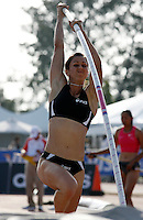 April Steiner-Bennett cleard 4.27m in the pole vault event at the Adidas Track Classic 2009 held at The Home Depot Center on Saturday, May 16, 2009. Photo by Errol Anderson,The Sporting Image.net
