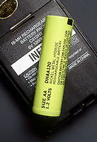 RECHARGEABLE BATTERY<br /> Nickel Hydride Battery & A Cell Phone<br /> Nickel-metal hydride battery cells provide more power (in equivalently sized packages) than nickel-cadmium (NiCd) cells while also eliminating some of the concerns over use of heavy metals in the cells.
