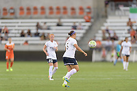 Houston, TX - Thursday Aug. 18, 2016: Whitney Church during a regular season National Women's Soccer League (NWSL) match between the Houston Dash and the Washington Spirit at BBVA Compass Stadium.