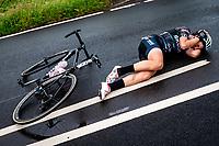 Picture by Alex Whitehead/SWpix.com - 17/06/2018 - Cycling - 2018 OVO Energy Women's Tour - Stage 5, Dolgellau to Colwyn Bay - Elisa Longo Borghini of Wiggle High5.