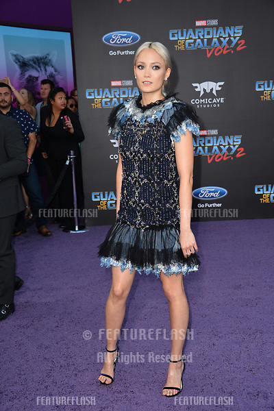 Pom Klementieff at the world premiere for &quot;Guardians of the Galaxy Vol. 2&quot; at the Dolby Theatre, Hollywood. <br /> Los Angeles, USA 19 April  2017<br /> Picture: Paul Smith/Featureflash/SilverHub 0208 004 5359 sales@silverhubmedia.com