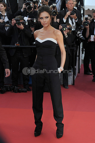 Victoria Beckham at &quot;Cafe Society&quot; &amp; Opening Gala arrivals - The 69th Annual Cannes Film Festival, France on May 11, 2016.<br /> CAP/LAF<br /> &copy;Lafitte/Capital Pictures /MediaPunch ***NORTH AND SOUTH AMERICAN SALES ONLY***