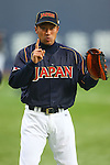Ryoji Aikawa (JPN), .February 26, 2013 - WBC : .2013 World Baseball Classic, Exhibithion Game .match between Japan 0-1 Hanshin Tigers  .at Kyocera Dome, Osaka, Japan..(Photo by AJPS/AFLO SPORT)