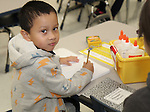 Students began school after the Thanksgiving break in a new classroom wing at Katherine Smith Elementary School.