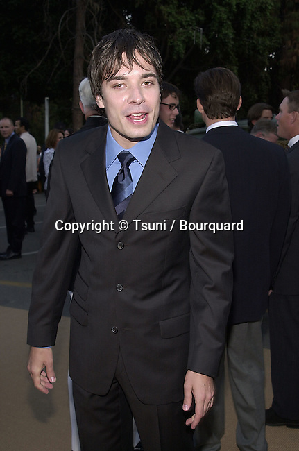 Jimmy Fallon arriving  at the premiere of Band of Brothers at the Hollywood Bowl in Los Angeles. August 29, 2001.  © Tsuni          -            FallonJimmy04.jpg