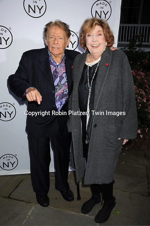 """honorees Jerry Stiller and Anne Meara attend the """"Made in NY""""  Awards at Gracie Mansion on June 4, 2012 in New York City."""