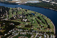 aerial photograph Chattanooga Golf and Country Club, Tennessee