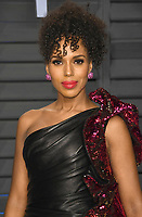 04 March 2018 - Los Angeles, California - Kerry Washington. 2018 Vanity Fair Oscar Party hosted following the 90th Academy Awards held at the Wallis Annenberg Center for the Performing Arts. <br /> CAP/ADM/BT<br /> &copy;BT/ADM/Capital Pictures
