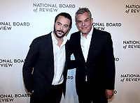 NEW YORK, NEW YORK - JANUARY 08: Danny Huston, Jack Huston attend the 2019 National Board Of Review Gala at Cipriani 42nd Street on January 08, 2019 in New York City. <br /> CAP/MPI/IS/JS<br /> &copy;JS/IS/MPI/Capital Pictures