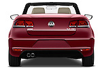 Straight rear view of a 2012 Volkswagen EOS Komfort