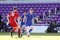 Orlando, Florida - Monday January 15, 2018: Chris Mueller. Match Day 2 of the 2018 adidas MLS Player Combine was held Orlando City Stadium.
