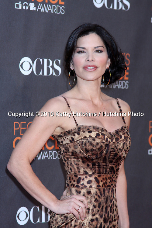 Lauren Sanchez.arriving  at the 2010 People's Choice Awards.Nokia Theater.January 6, 2010.©2010 Kathy Hutchins / Hutchins Photo.
