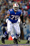 3 December 2006: Buffalo Bills offensive guard Duke Preston (75) in action against the San Diego Chargers at Ralph Wilson Stadium in Orchard Park, New York. The Charges defeated the Bills 24-21. Mandatory Photo Credit: Ed Wolfstein Photo<br />