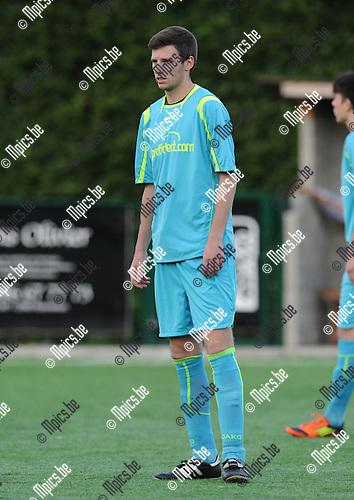 2012-08-02 / Voetbal / seizoen 2012-2013 / Brasschaat / Levi Van Hees..Foto: Mpics.be