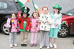 Tyler, Thomas, Leah, Katie and Emma at the 2011 St.Patrick's Day Parade in Dunleer...(Photo credit should read Jenny Matthews/www.newsfile.ie)....This Picture has been sent you under the conditions enclosed by:.Newsfile Ltd..The Studio,.Millmount Abbey,.Drogheda,.Co Meath..Ireland..Tel: +353(0)41-9871240.Fax: +353(0)41-9871260.GSM: +353(0)86-2500958.email: pictures@newsfile.ie.www.newsfile.ie.