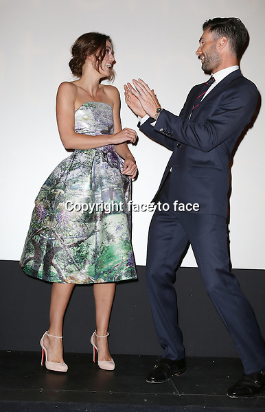 Keira Knightley and Adam Levine during the 2013 Tiff Film Festival Presentation for &quot;Can A Song Save Your Life?&quot; at The Princess of Wales Theatre on September 7, 2013 in Toronto, Canada.<br /> Credit: McBride/face to face
