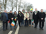 Local councillors and delegates from Nettuno Italy at Ardee St Patrick's day parade. Photo:Colin Bell/pressphotos.ie