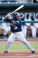Angel Salome (26) of the Huntsville Stars at bat at the Baseball Grounds in Jacksonville, FL, Thursday June 12, 2008.