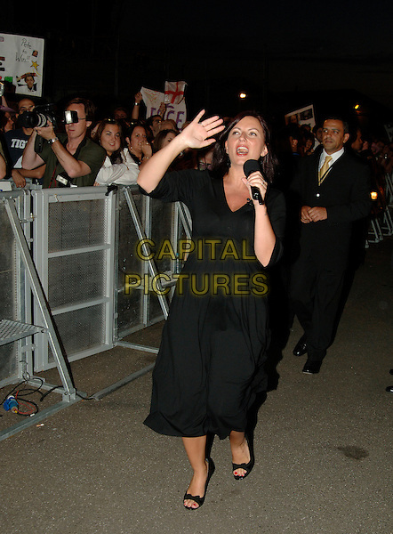 DAVINA McCALL..Eviction from Big Brother 7..16th June 2006, Borehamwood, England ..Ref: PL..BB7  full length pregnant..www.capitalpictures.com..sales@capitalpictures.com..©Phil Loftus/Capital Pictures