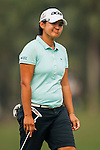 TAOYUAN, TAIWAN - OCTOBER 27:  Yani Tseng of Taiwan reacts to her put on the 17th green during the day three of the Sunrise LPGA Taiwan Championship at the Sunrise Golf Course on October 27, 2012 in Taoyuan, Taiwan.  Photo by Victor Fraile / The Power of Sport Images
