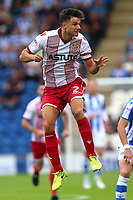 Jonathan Smith of Stevenage during Colchester United vs Stevenage, Sky Bet EFL League 2 Football at the Weston Homes Community Stadium on 12th August 2017
