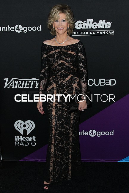 CULVER CITY, LOS ANGELES, CA, USA - FEBRUARY 27: Jane Fonda at the 1st Annual unite4:humanity Presented by unite4:good and Variety held at Sony Pictures Studios on February 27, 2014 in Culver City, Los Angeles, California, United States. (Photo by Xavier Collin/Celebrity Monitor)