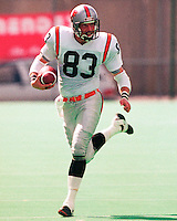 Jay Christensen BC Lions 1991. Copyright photograph Scott Grant/