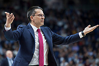 Baskonia Vitoria coach Pedro Martinez during Turkish Airlines Euroleague match between Real Madrid and Baskonia Vitoria at Wizink Center in Madrid, Spain. January 17, 2018. (ALTERPHOTOS/Borja B.Hojas) (NortePhoto.com NORTEPHOTOMEXICO)