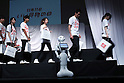 October 17, 2016, Tokyo, Japan - Softbank's humanoid robot Pepper attends the promotional event of the Day of good shopping in Tokyo on Monday, October 17, 2016. Yahoo and other 39 retailers will have a large bargain sale on their shopping site and stores on November 11.   (Photo by Yoshio Tsunoda/AFLO) LWX -ytd-