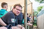 07.01.2019, Lion & Safari Park, Broederstroom, Kalkheuvel, RSA, TL Werder Bremen Johannesburg Tag 05<br /> <br /> im Bild / picture shows <br /> Thomas Horsch (Co-Trainer SV Werder Bremen) wartet auf Besuch im Löwen-Gehege, <br /> <br /> Teil der Spieler besucht am 5. Tag des Trainingslager eine geführte Tour im Lion & Safari Park, <br /> <br /> Foto © nordphoto / Ewert