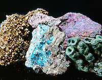 COLORFUL ORES OF COPPER<br />