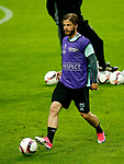 Lasse Schone of Ajax trains ahead of the UEFA Europa League Final at the Friends Arena, Stockholm. Picture date: May 23rd, 2017. Pic credit should read: Matt McNulty/Sportimage