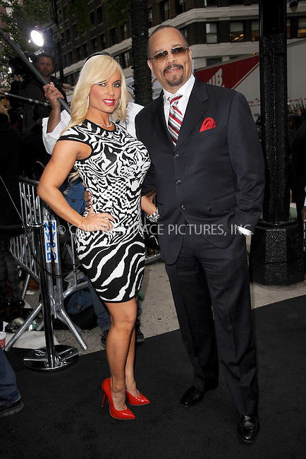 WWW.ACEPIXS.COM . . . . . .April 30, 2012...New York City....Coco and Ice-T arriving to attend the E! 2012 Upfront at Gotham Hall on April 30, 2012  in New York City ....Please byline: KRISTIN CALLAHAN - ACEPIXS.COM.. . . . . . ..Ace Pictures, Inc: ..tel: (212) 243 8787 or (646) 769 0430..e-mail: info@acepixs.com..web: http://www.acepixs.com .