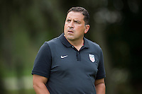 Orlando, FL - Friday Oct. 14, 2016:   Coaching instructor Santo Rivas during a US Soccer Coaching Clinic in Orlando, Florida.
