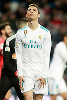 Real Madrid's Cristiano Ronaldo during La Liga match. February 10,2017. (ALTERPHOTOS/Acero)