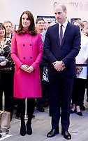 Prince William Duke of Cambridge and Catherine Duchess of Cambridge Visit Coventry