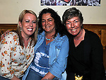 Sharon Fitzpatrick, Mel and Joan Conaghy pictured at the 80's night in the Rugby club. Photo: Colin Bell/pressphotos.ie