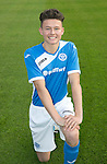 St Johnstone Academy Under 17&rsquo;s&hellip;2016-17<br />Morgan Miller<br />Picture by Graeme Hart.<br />Copyright Perthshire Picture Agency<br />Tel: 01738 623350  Mobile: 07990 594431