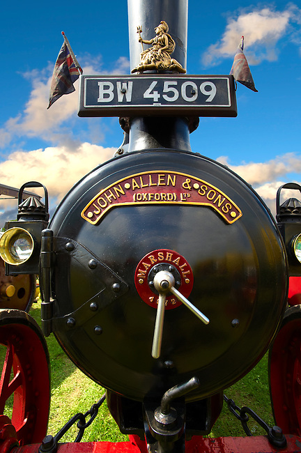 A John Allen and Sons of Oxford Steam traction engines