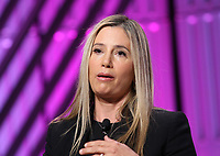 LOS ANGELES, CA - NOVEMBER 2: Mira Sorvino, at TheWrap's Power Women's Summit Inside at the InterContinental Hotel in Los Angeles, California on November 2, 2018. Credit: Faye Sadou/MediaPunch