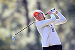 WILMINGTON, NC - OCTOBER 27: Penn State's Lauren Waller on the 13th tee. The first round of the Landfall Tradition Women's Golf Tournament was held on October 27, 2017 at the Pete Dye Course at the Country Club of Landfall in Wilmington, NC.